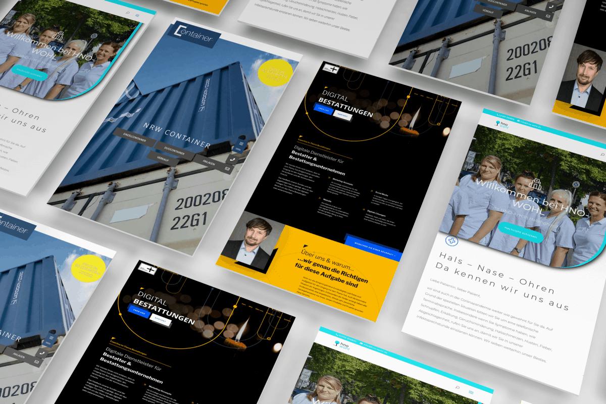 Digitalisierung Webiste Homepage Webentwicklung Software